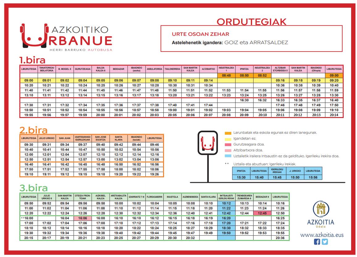 Urbanue - aldaketa 2021.06.09